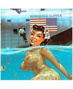 Plaque décorative en métal Honolulu - Romain HUGAULT (23 x 30 cm)