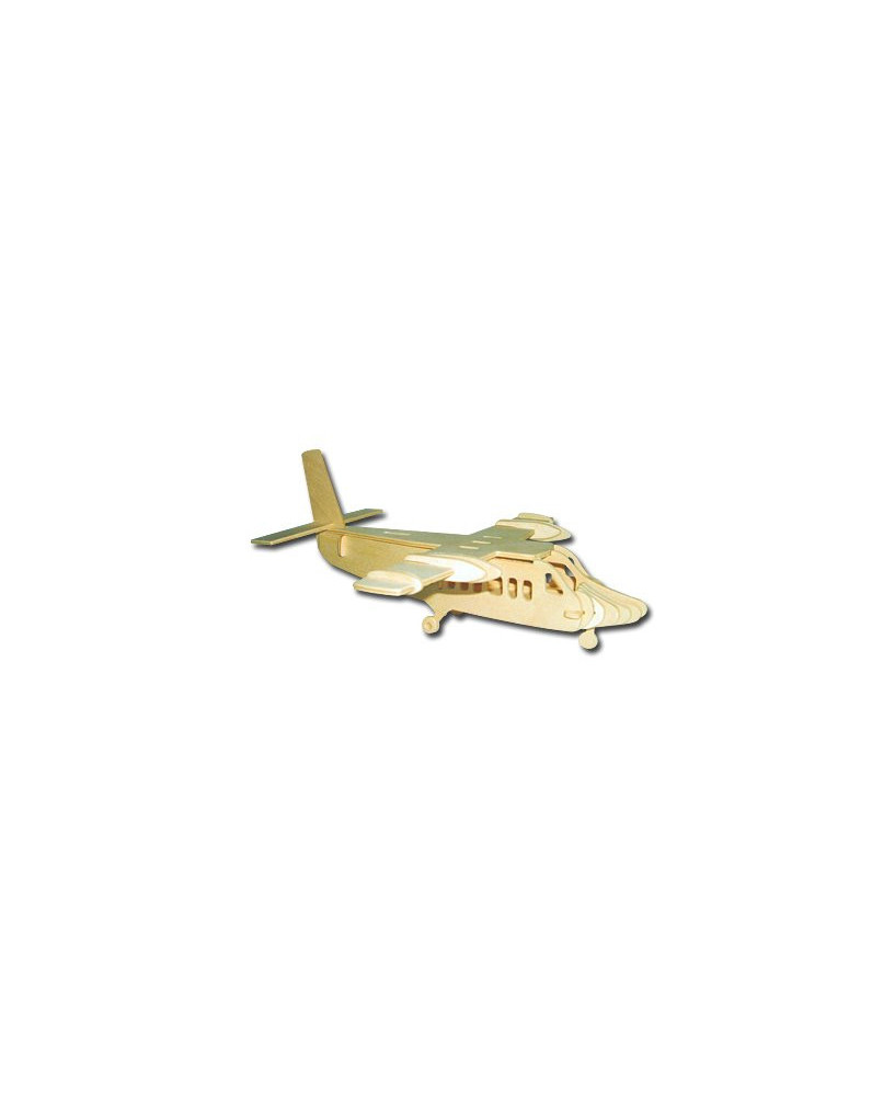 Petit avion en bois à monter - Twin Otter