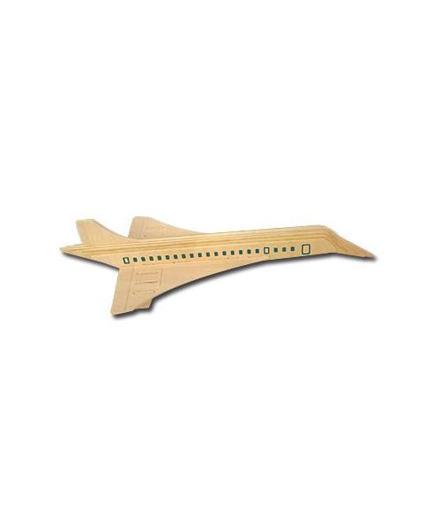 Petit avion en bois à monter - Concorde