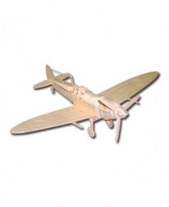 Petit avion en bois à monter - Spitfire