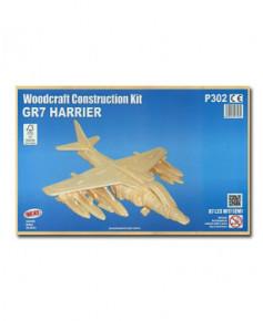 Petit avion en bois à monter - GR7 Harrier