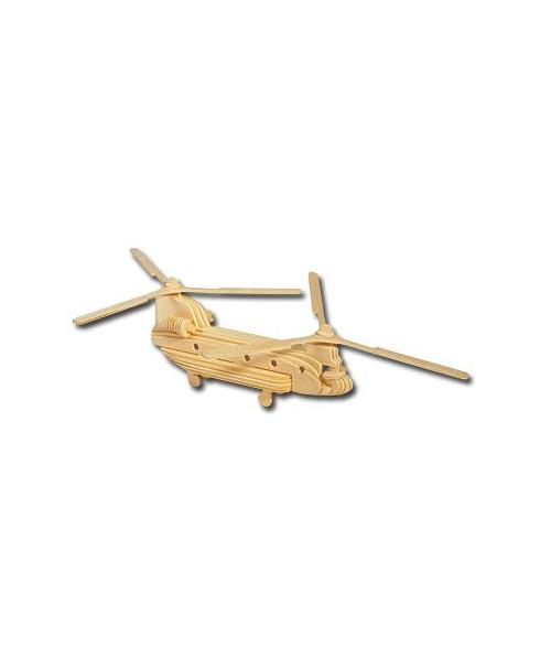Petit avion en bois à monter - Chinook