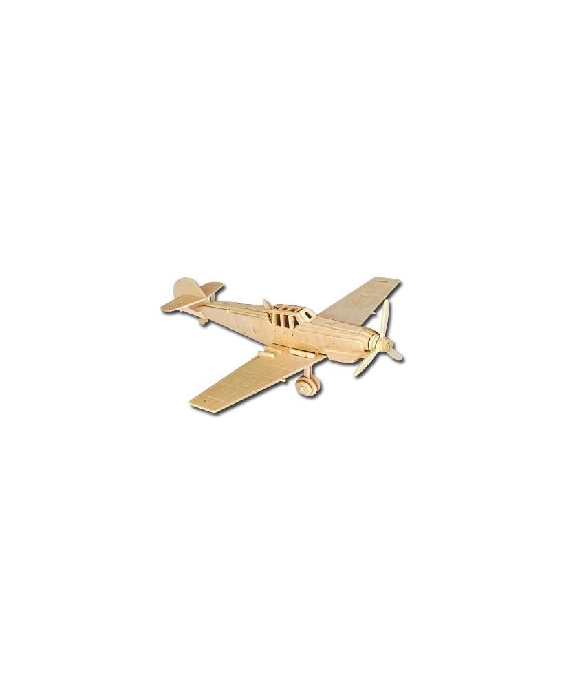 Petit avion en bois à monter - Messerschmitt BF109