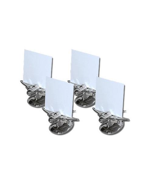 Set de 4 portes nom de table - forme avion