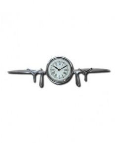 Horloge de bureau - forme avion