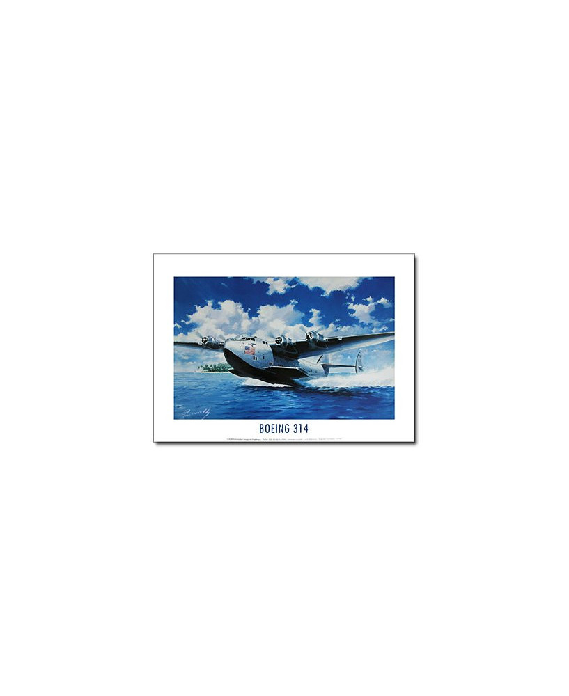 Poster Boeing 314