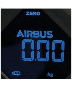 Pèse bagages noir électronique Airbus
