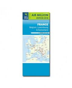 Carte 2018 1/1 000 000e V.F.R. France - Jour - Air Million