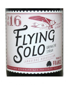Vin Rouge Flying Solo - 2016 - Grenache / Syrah
