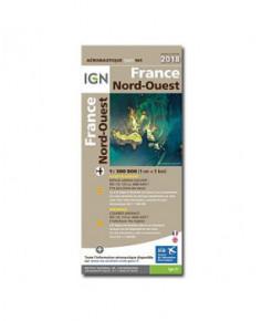 Carte 2018 1/500 000e Nord-Ouest - version PAPIER