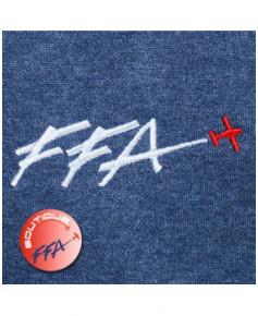"""Sweat-shirt """"Silhouette avion"""" F.F.A. à capuche Femme - Taille L"""