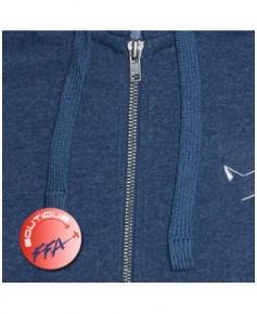 "Sweat-shirt ""Silhouette avion"" F.F.A. à capuche Homme - Taille L"