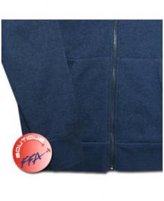 "Sweat-shirt ""Silhouette avion"" F.F.A. à capuche Homme - Taille XL"