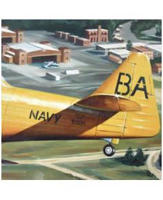 Poster Benjamin FREUDENTHAL - North American T6