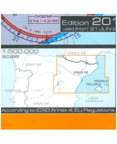 Carte Espagne Nord Est.Carte 2018 1 500 000e V F R Espagne Nord Est