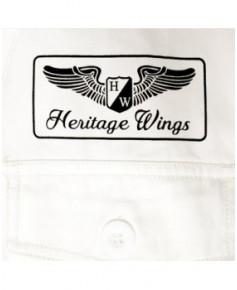 Combinaison de vol Blanche - Taille XS - Heritage Wings