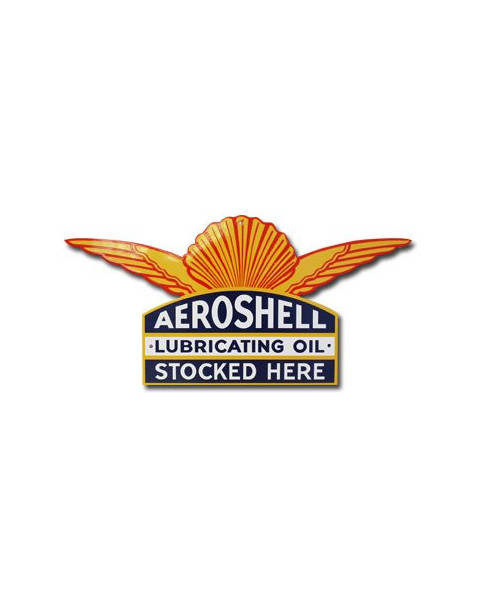 Plaque émaillée Aeroshell