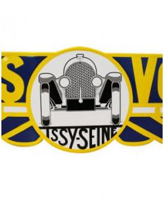 Plaque émaillée logo Avions Voisin