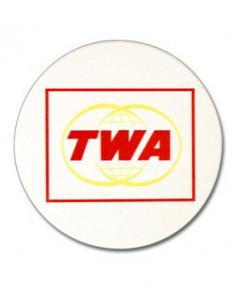 Dessous de verres logos compagnies aériennes historiques