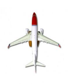 Maquette bois Boeing 737-800w Norwegian