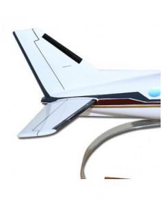 Maquette bois Beech King Air 90