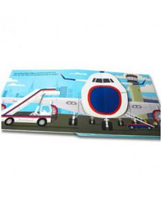 Les avions - Méga livre animé