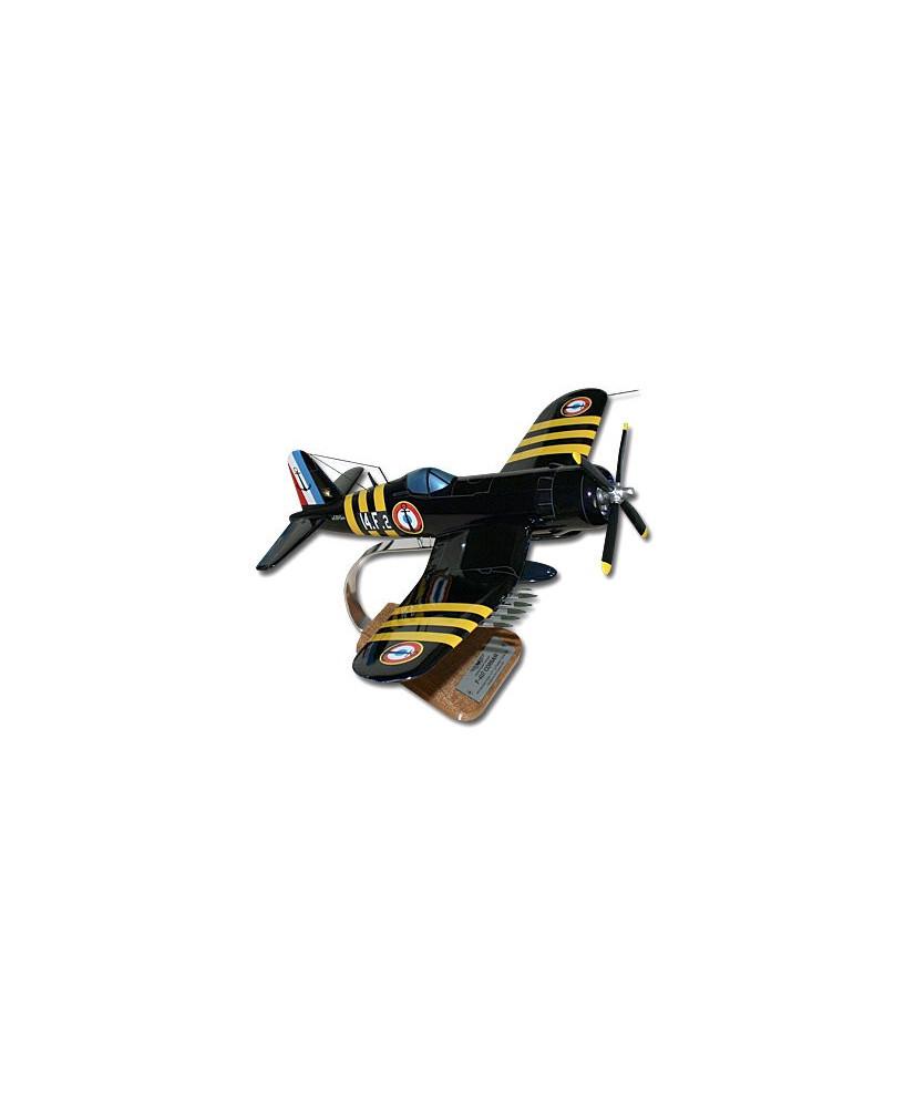 Maquette bois Corsair F4U-7 Aéronavale