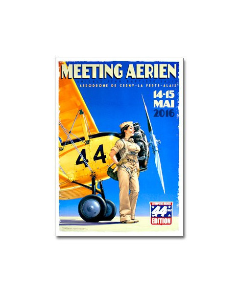 Affiche Meeting La Ferté Alais 2016