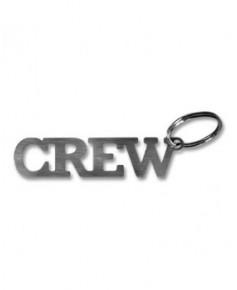 Porte-clés métal Crew