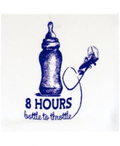 "Body bébé ""8 hours bottle to throttle"" - Taille : 12 mois"