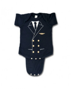 Body bébé Pilot Uniform - Taille : 6 mois