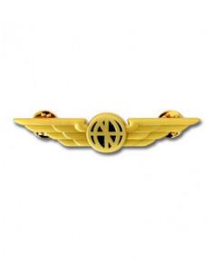 Pin's doré ailes de poitrine