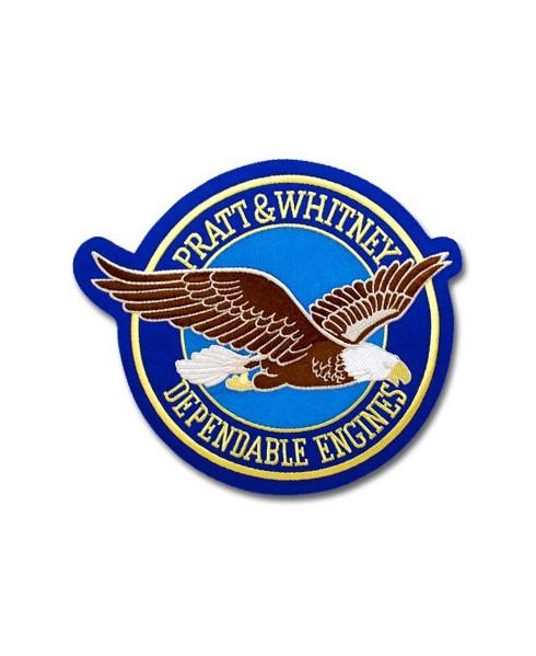 "Ecusson ""Pratt & Whitney Depandable Engines"" Grand modèle"