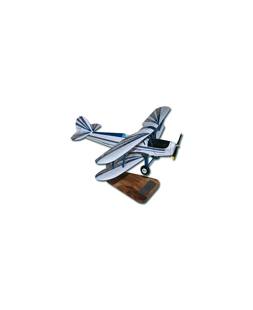 Maquette bois Stampe SV4 (décoration civile)