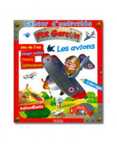 Cahier d'activités les avions - P'tit garçon