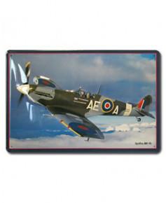Plaque décorative en relief Spitfire MK Vb (20 x 30 cm)
