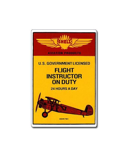Magnet émaillé Flight Instructor on Duty