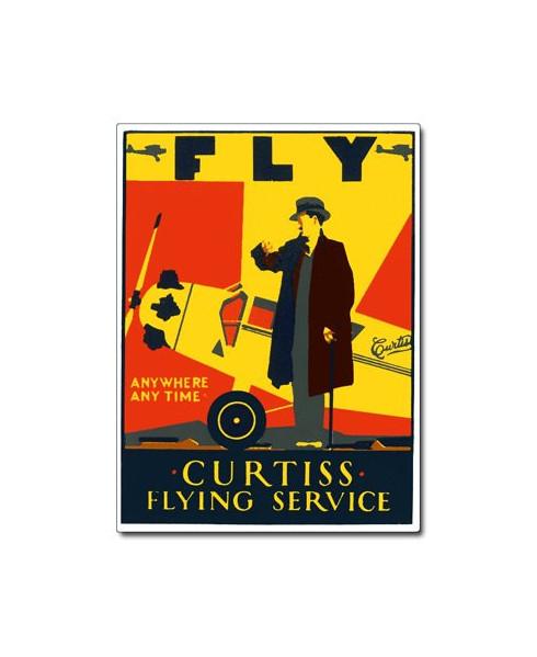 Magnet émaillé Curtiss Flying Service