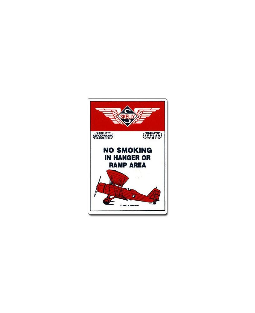 Magnet émaillé No Smoking in Hanger or Ramp Area