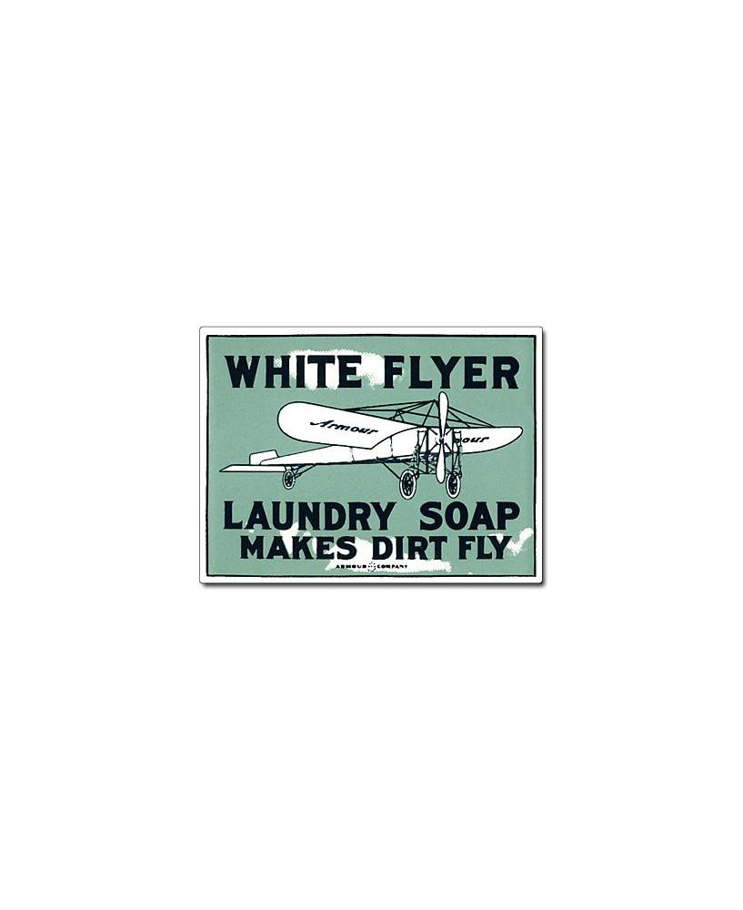 Magnet émaillé White Flyer