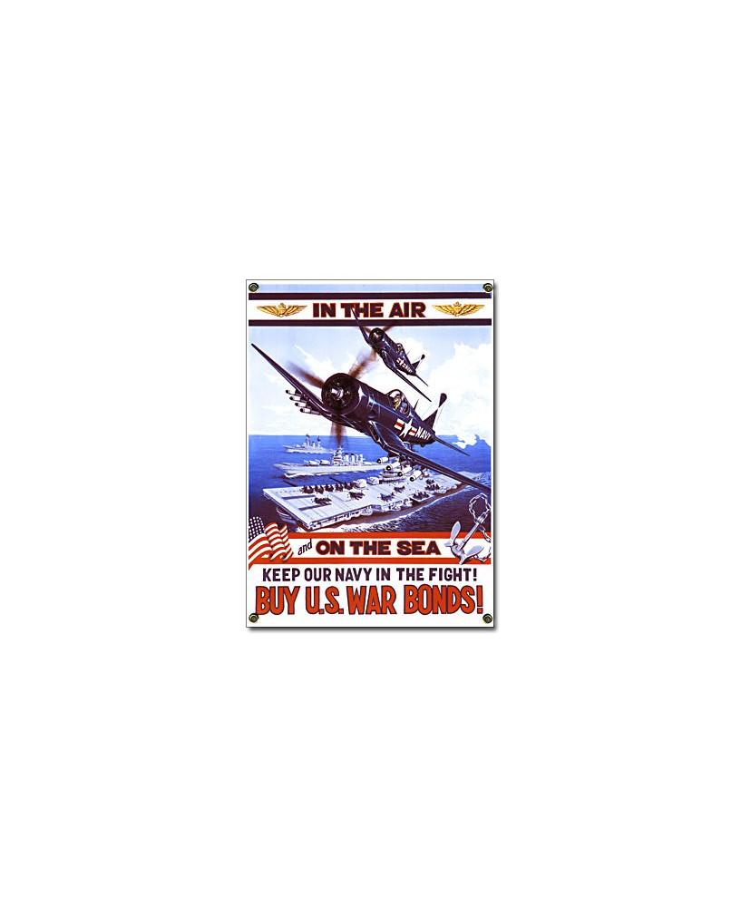 Plaque émaillée F4U Corsair