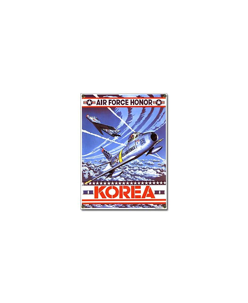 Plaque émaillée Korea