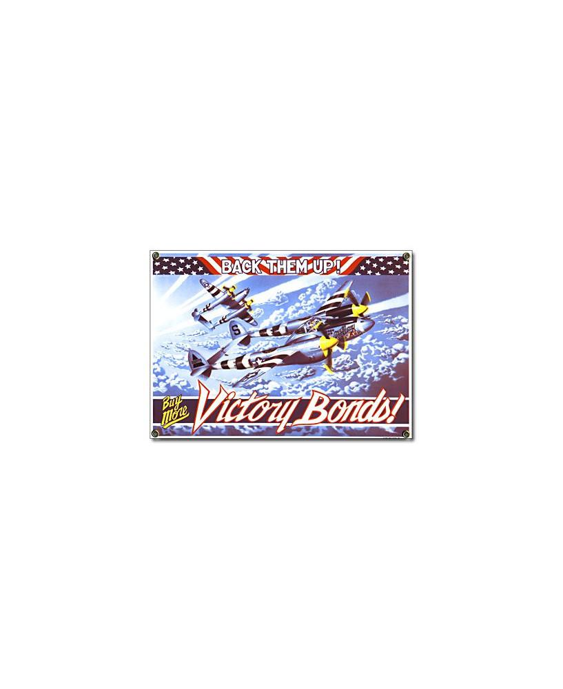 Plaque émaillée Victory Bonds