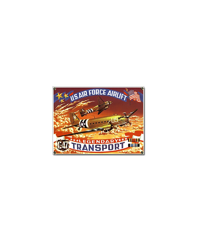 Plaque émaillée Legendary Transport