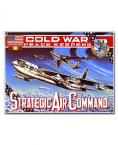 Plaque émaillée Strategic Air Command