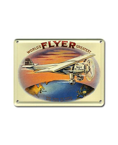Mini plaque décorative Flyer - Spirit of Saint-Louis