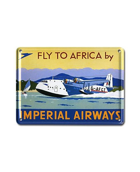 Mini plaque décorative Imperial Airways