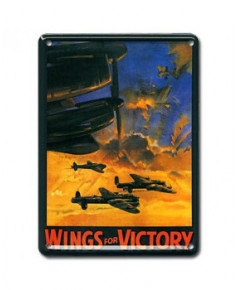 Mini plaque décorative Wings for Victory