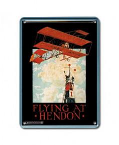 Mini plaque décorative Flying at Hendon