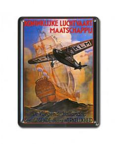 Mini plaque décorative Koninklijke Luchtvaart Maatschappij